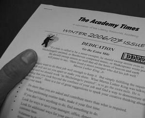image of The Academy Times newsletter