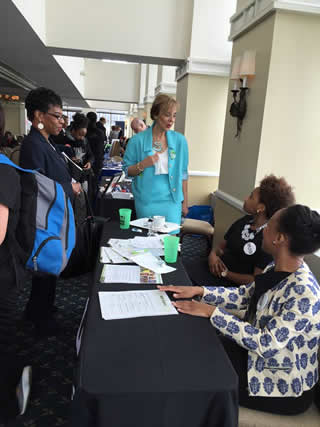 Resources for Human Development Representative Julicia James and Taylor Thompson @ The 3rd Annual Job Fair for People with Disabilities