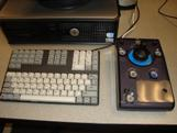 Small Keyboard and Joystick Mouse